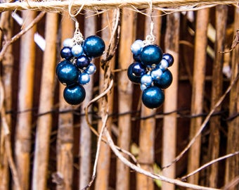 Loire Earrings - Blue