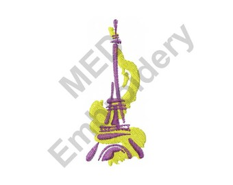 Eiffel Tower - Machine Embroidery Design