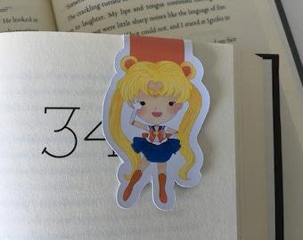 Sailor Moon Magnetic Bookmark // Sailor Moon