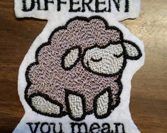 Awesome Patch,black sheep,different