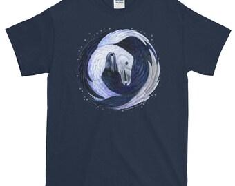 Raven Yin Yang T-Shirt