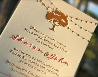 Letterpress Wedding Invitations & Marriage von DancingPenandPress