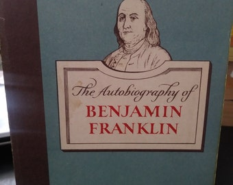 The autography of Benjamin Franklin