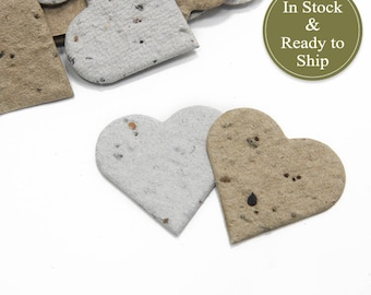 EcoBlend (Recycled Grocery Bag & Newspaper) Plantable Seed Paper Confetti - READY-TO-SHIP - Eco Friendly, Wedding Favor, Bridal Shower Favor