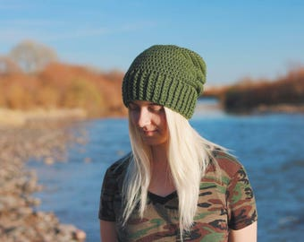Crochet Slouchy Beanie | Slouchy Beanie | Crochet Beanie | Slouch Hat | Womens Hats | Womens Accessories