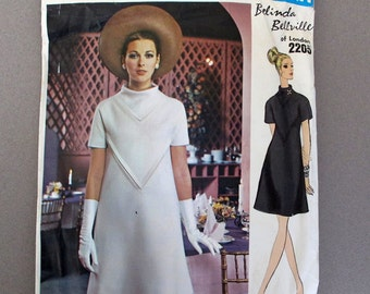 1960's Vogue Couturier Pattern Belinda Bellville of London 2205 Size 16