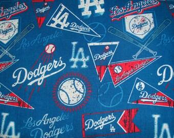 New!!! Dodgers (fabric design) Scrub Cap, Surgical Cap, Chemo Cap, Headwear