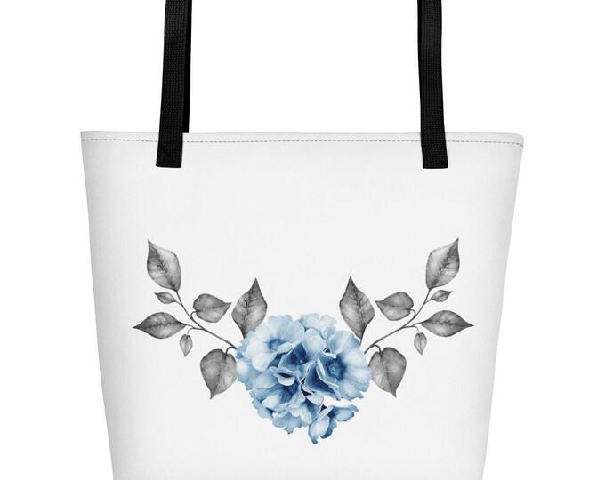 Flower Beach Bag