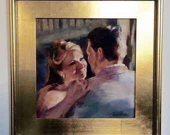 Custom Oil Painting - wedding portraits