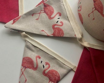 Little Florence Flamingo Pink Bunting
