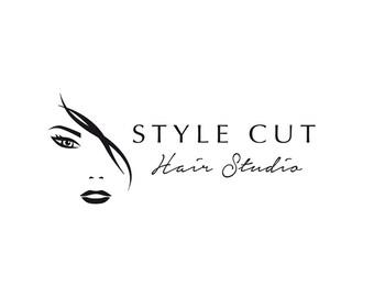Hair and beauty logo, custom logo, business logo, instant logo, instant logo download.