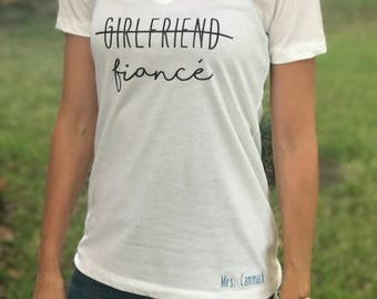 Fiancé Shirt / Bride Shirt / Girlfriend Fiancé