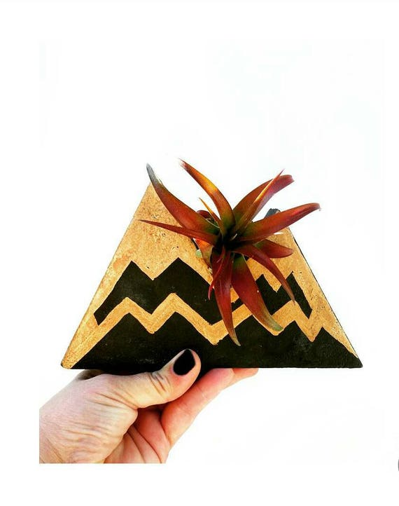 Concrete Mountain Decor,Air Planter,Air Plant Holder,Modern Mountain Decor, Concrete Home Decor, Jewelry Holder,Jewelry Display