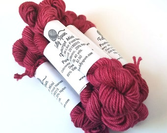 We Like Food Names - Postscript Fingering - Hand-Dyed Sock Yarn