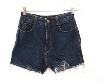Vintage 80s jean shorts Jordache womens high waisted cut offs