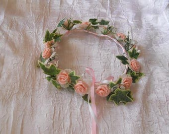 Flower Crown for wedding, communion and bridesmaid