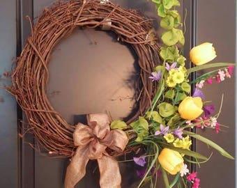 Grandma's Garden Wreath