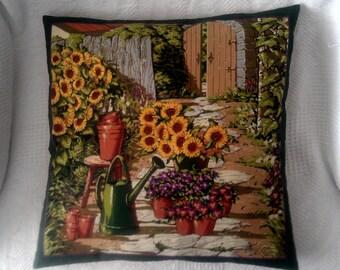 Garden Theme Pillow