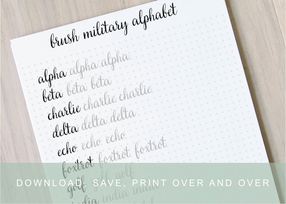 Intermediate brush lettering worksheets calligraphy tutorial