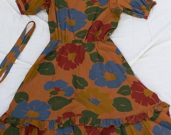 Vintage Floral Dress. Sundress