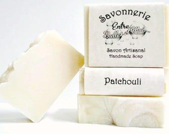 Handmade soap Patchouli fragrance