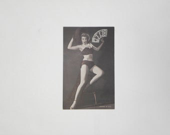 1950's Pinup Advertising Card