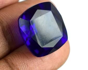 23.65 Ct Cushion Cut Brazilian Blue Topaz Loose High Quality Gemstone