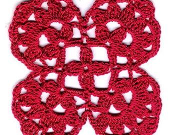 Chakra Lotus Crochet Pattern: First Chakra