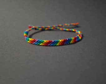 Gay Pride Friendship Bracelet