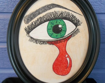 Lover's Eye with Frame