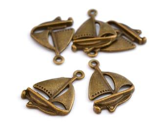 5 charm bronze vessels