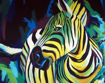 Zebra - Giclee print