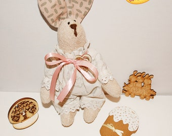 Cute Child Easter Bunny