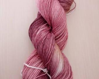 Hand-dyed wool berries dream