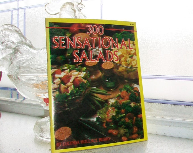 Vintage Cookbook 300 Sensational Salads