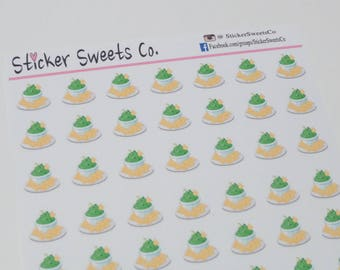 Chips & Guacamole Planner Stickers