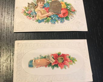 2 Late 18 Early 1900's Calling Cards