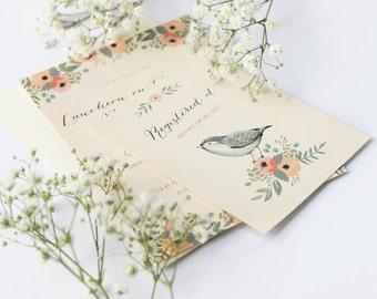 In Full Bloom -  Baby Shower Invitation