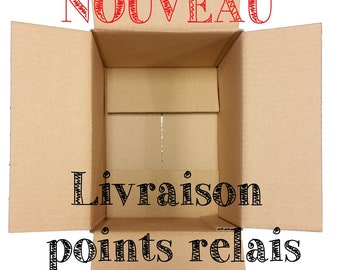 New: Delivery POINT relay of Mondial relay France