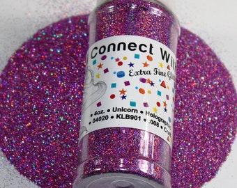 Beautiful HOLOGRAPHIC Extra Fine 1/128 4oz Bottled Glitter