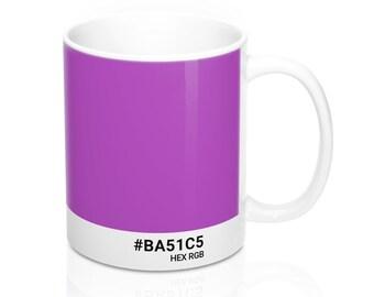 Basics - #BA51C5 HEX RGB Coffee Mug