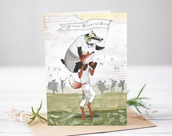 Happy Wedding Day [Greetings Card]