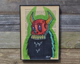 RED SKULL DEVIL