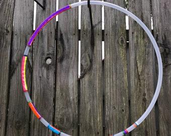 Megamoon Reflective Color Shifting Rainbow Hula Hoop
