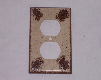 Gingerbread outlet switch cover FREE SHIPPING