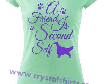 English Setter Friend T-shirt