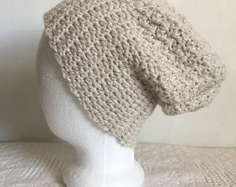 Half and Half Slouchy Beanie