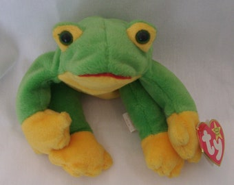 Beanie Babies Smoochy the Frog