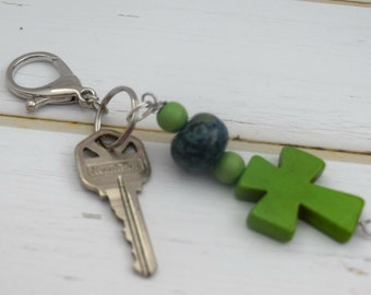 New House Gift | Wife Lanyard, Small Cross Gift, Key Ring For Car, Key Lanyard For House, House Key Ring, Housewarming Gift, Birthday Gift