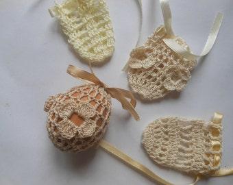 Crochet Easter Egg Cover, Set of 4 Hand Crocheted Easter Eggs Easter Decoration